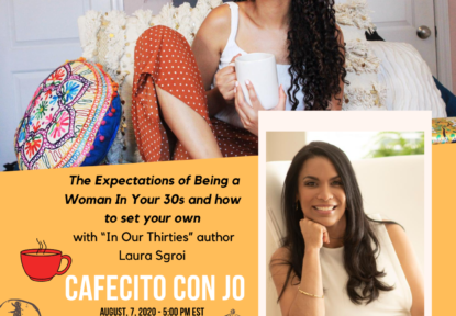 Today: IG Live at 5PM-The Expectations of Being a Woman In Your 30s and How To Set Your Own